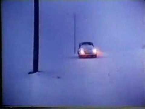 famous vw beetle snow plow commercial