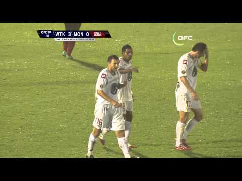 2013 OFC Champions League / 2013.04.17 / Waitakere United vs AS Mont Dore