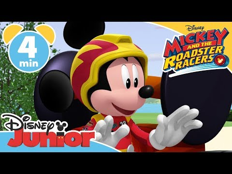 Mickey and The Roadster Racers  Donalds Pit Crew  Magical Moment ✨ Disney Junior UK