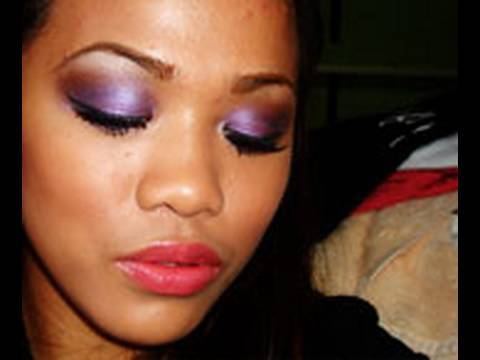 Purple Haze Smokey Eye Make Up
