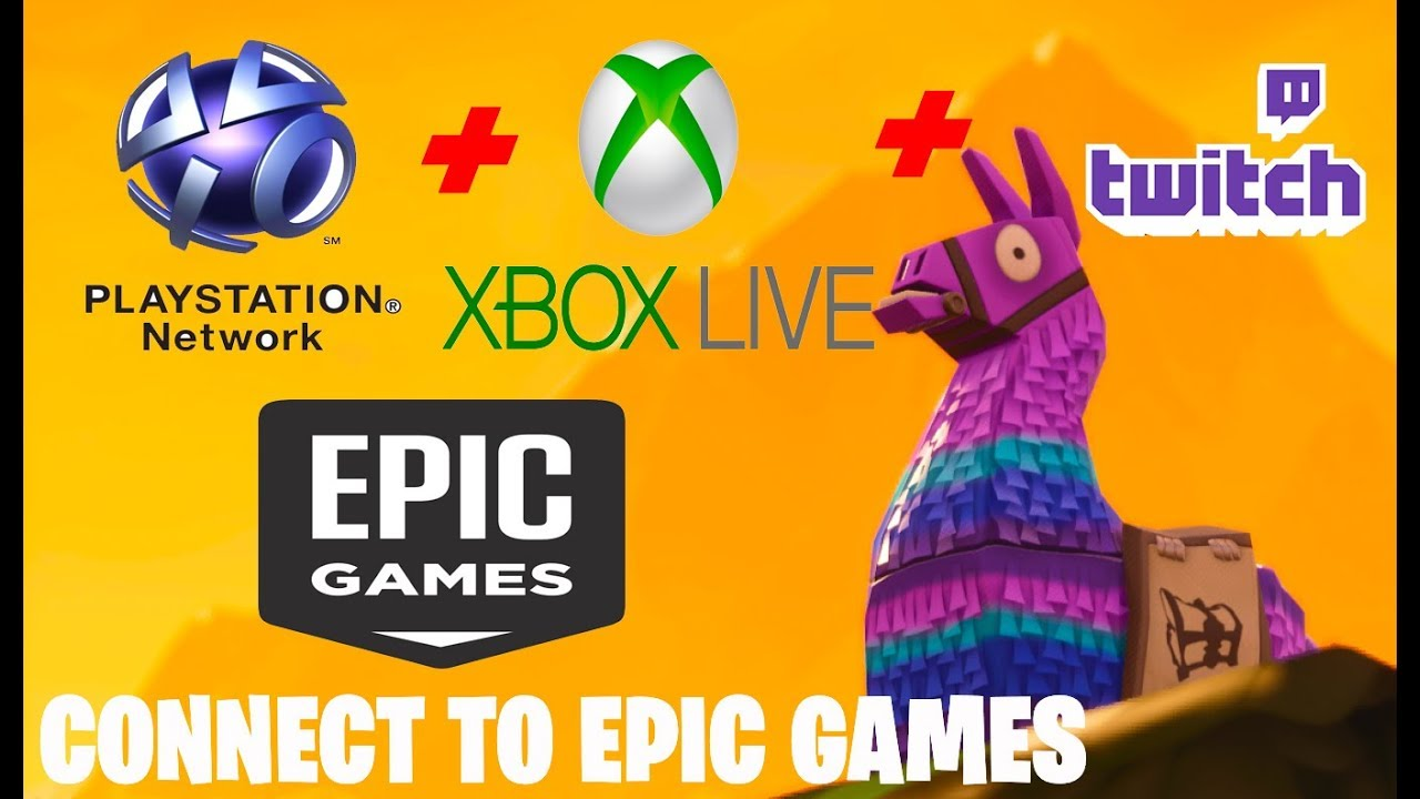 How to LINK PSN / XBOX / TWITCH Account to Epic Games ...