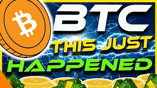 BITCOIN Dipped!! | But look what just happened!! | CRYPTO NEWS TODAY