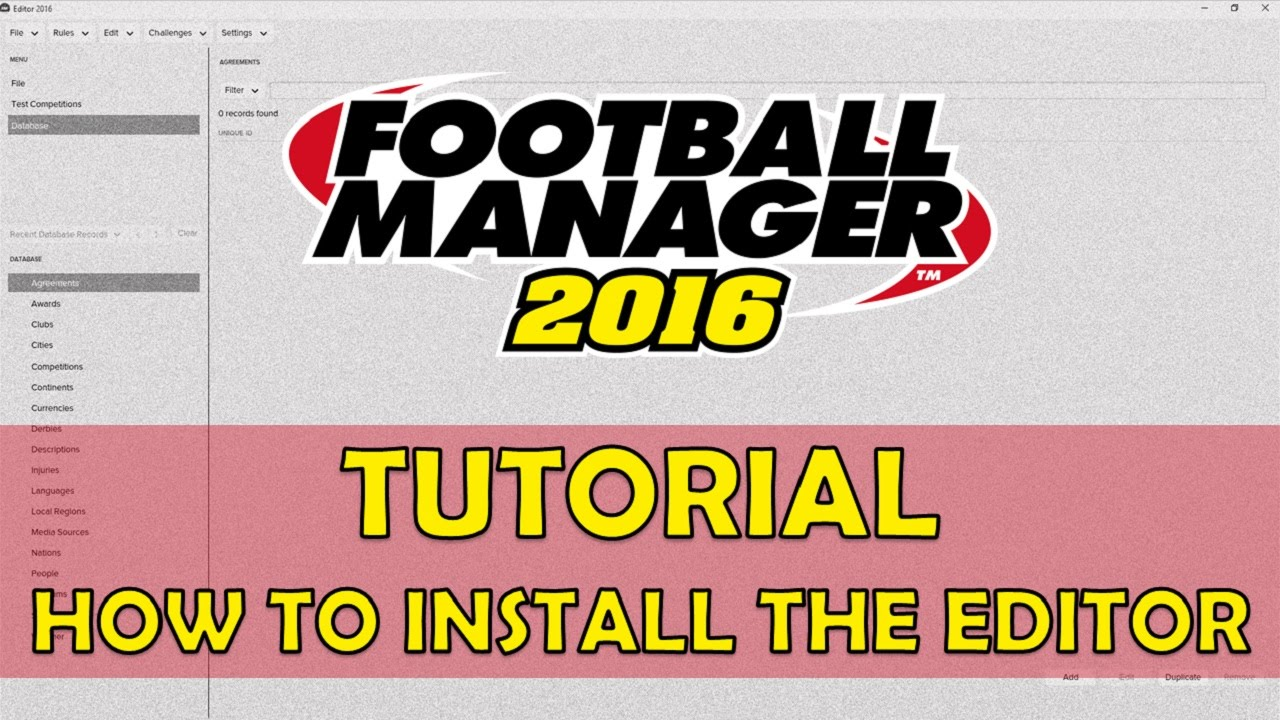 football manager 2018 pre game editor download