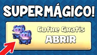 CÓMO CONSEGUIR 100% GRATIS COFRES SUPERMÁGICOS!! - Clash Royale