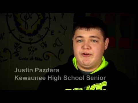Leaving Kewaunee High School on the Perfect Note