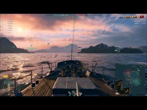 World of Warships Saint Louis 71 hits