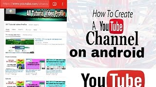 How to Create a YouTube Channel on Android phone in bangla || how to earn money on YouTube