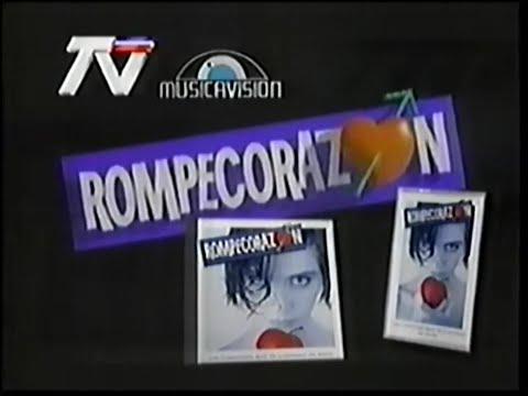 Comercial Disco Rompecorazon Sony Music Musicavision Chile 1994