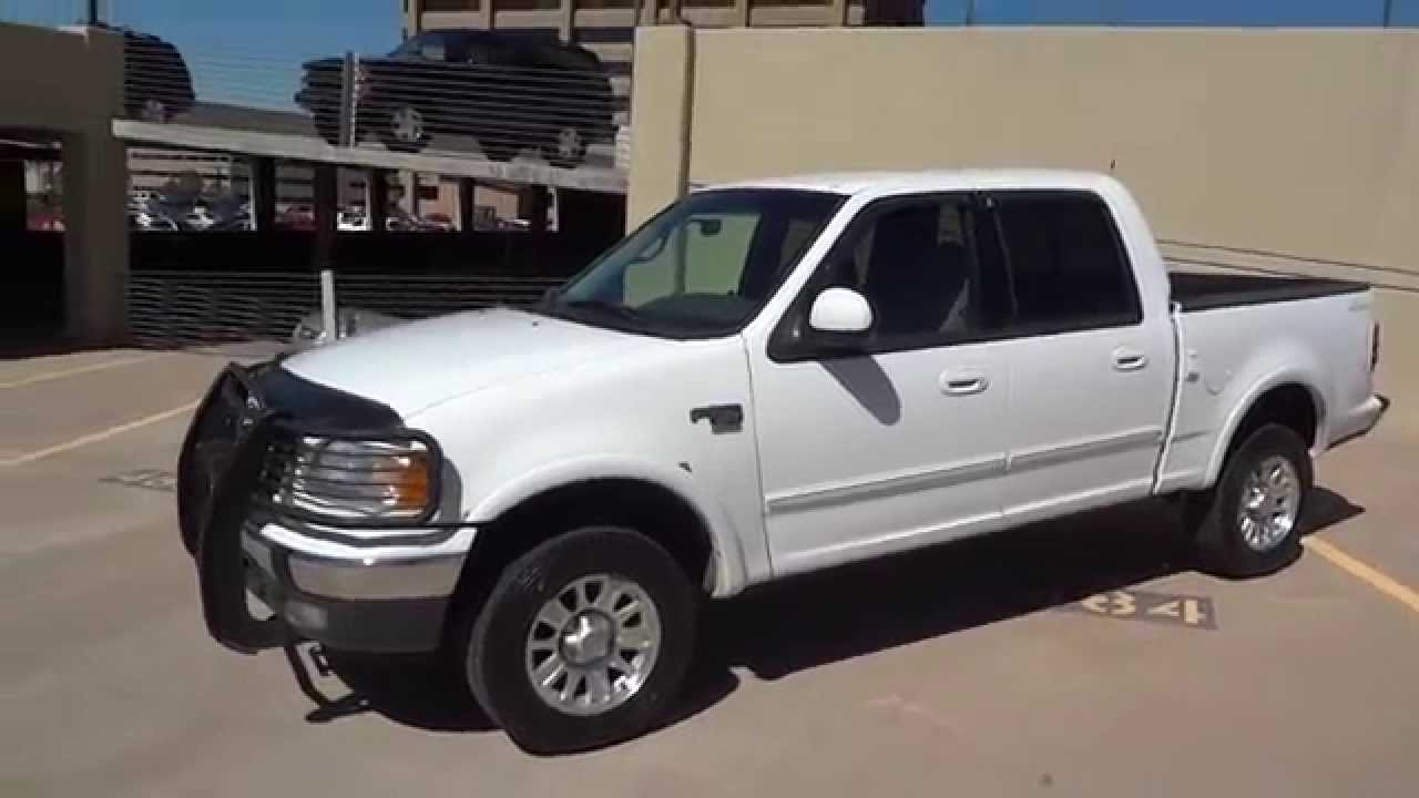 2001 F150 Supercrew >> 2001 (32K Miles!!) Ford F-150 SuperCrew 4x4 For Sale - YouTube