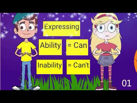 Expressing ability and inability in English
