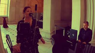 Imagine Dragons cover - I'm on top of the world (Katie Hughes Wedding Singer) YouTube Thumbnail