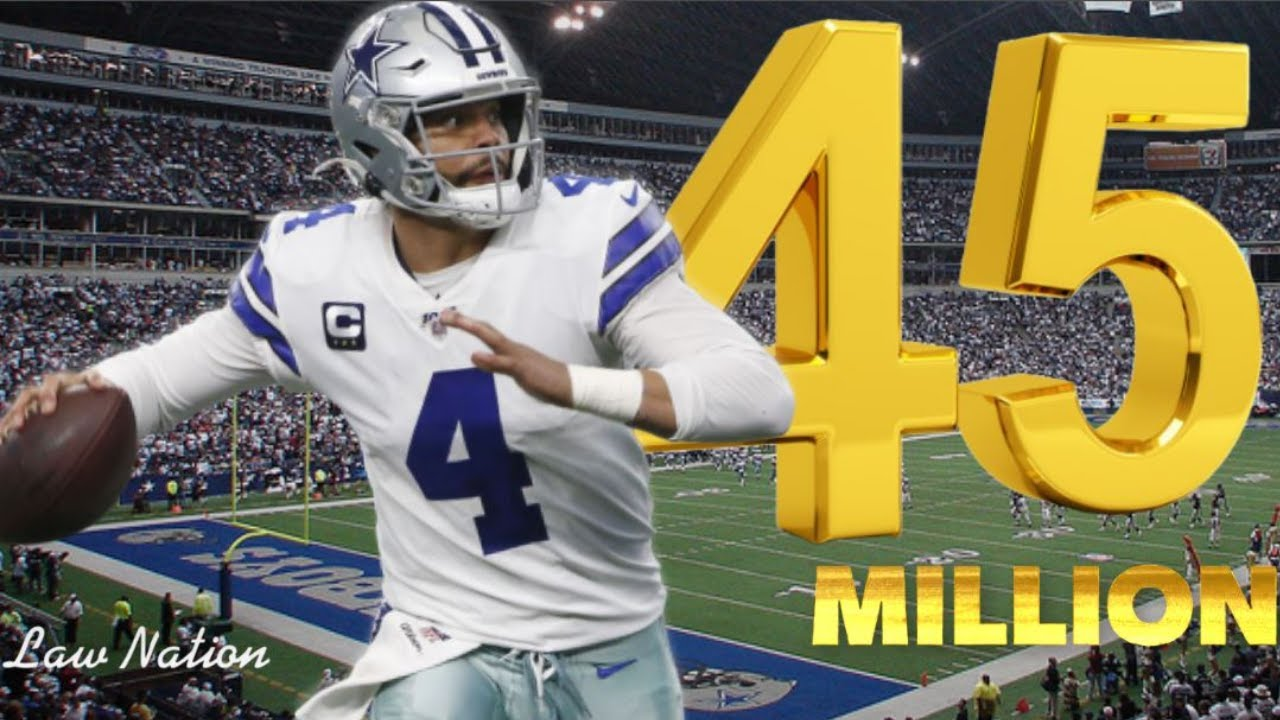 Why Cowboys QB Dak Prescott didn't ask for $45 million in Year 5
