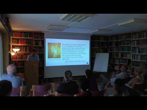 Konstantinos Chryssogelos Lecture, July 21, 2017