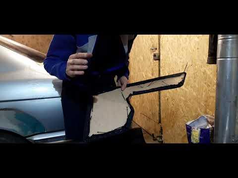 BMW E34 Перетяжка карта двери дорест, рест Часть_1