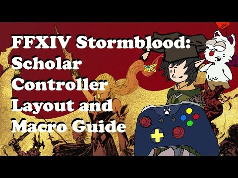 FFXIV Scholar Controller and Macro Guide [Level 70] - 동영상