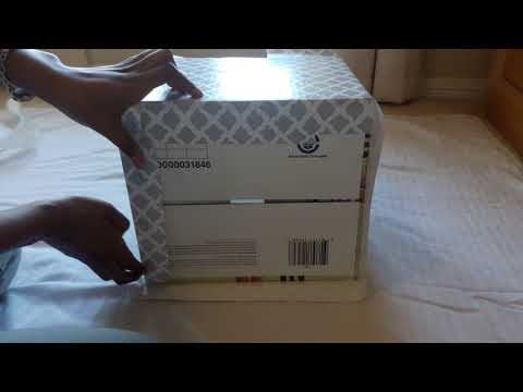 Dollar Tree D.I.Y Storage Contact Paper Boxes