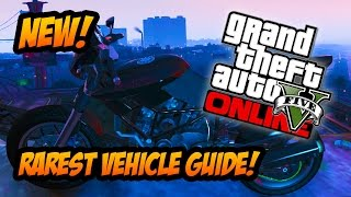 GTA 5 Online - Rarest Vehicle! How to Get the Rare
