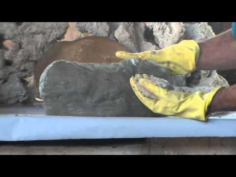 Como fazer Pedras Artificiais para Lagos,Cachoeiras e muito mais!