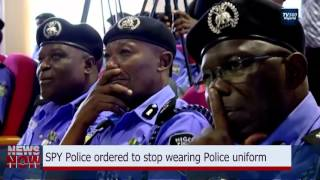 SPY Police ordered to stop wearing Police uniform
