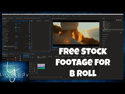 How To Use Free Stock Footage To Create Epic Stories!! Premier Pro CC 2018