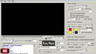 extract Subtitles from DVD as .SRT on Windows-DVDSubEdit
