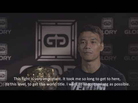 Sitthichai expects to overpower Dylan Salvador in GLORY 39 BRUSSELS title fight