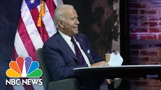 Biden Holds Virtual Roundtable With Frontline Health Care Workers | NBC News