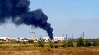 Пожар Буча 25 августа 2015