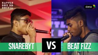 SnareByt Vs. Beat Fizz | Battle 3 | Top 8 - QF 3 | BattleboxBD2017
