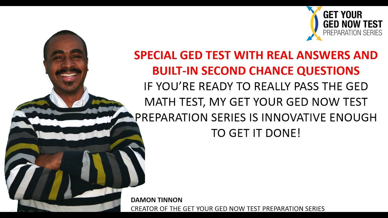 Questions about getting my GED?