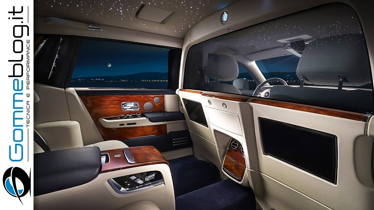 2019 RollsRoyce Phantom  INTERIOR  BEST TOP PRIVACY