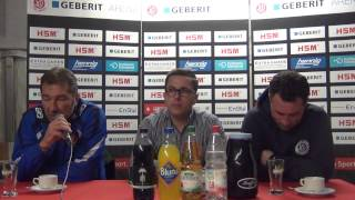 Pressekonferenz SC Pfullendorf - TuS Koblenz
