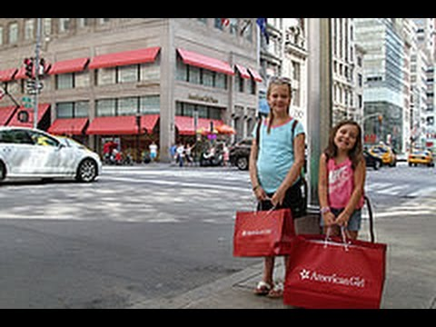 Father's Day in NYC,  American Girl Doll Store & Boat Ride - RYEBREADS