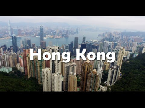 HONG KONG - Drone & GoPro Skyline Video Tour