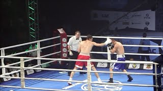 Чемпионат мира по боксу AIBA Pro Boxing ч.4 венгр Дьюла Кате и Андрей Замковой Россия