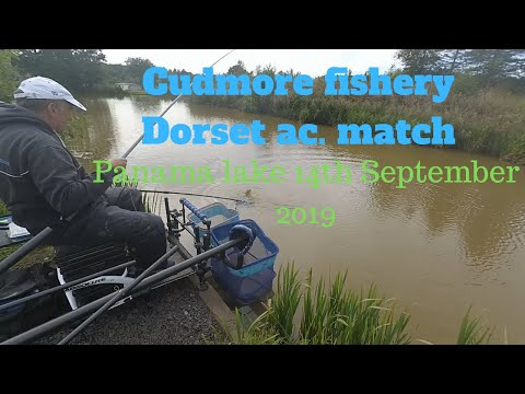 Dorset AC. Fishing Match At Cudmore Fishery On Panama Lake 14/09/2019