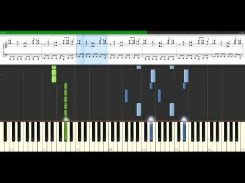 Muse  Starlight Piano Tutorial Synthesia