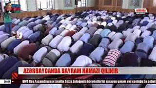 Azərbaycanda bayram namazı qılındı