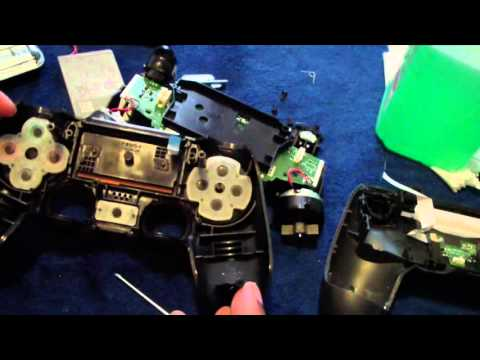 How to Clean Fix Repair PS4 Controller