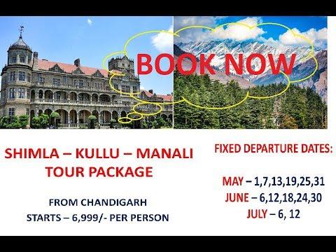 Shimla Kullu Manali tour package - Group Tours
