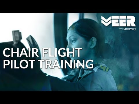 Indian Air Force Academy E1P5 | Chair Flying Pilot Training | Veer by Discovery