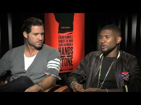 Usher Talks 'Hands of Stone' & Justin Beibers Learning Curves
