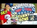 Skylanders Trap Team: Meet FUNNY BONE w/ SKIT (New Undead Core Character) Shorts