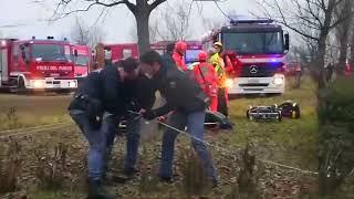 Tote und Verletzte bei Zugunglück in Milan Italien