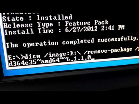 Как откатить обновление windows 10 через командную строку