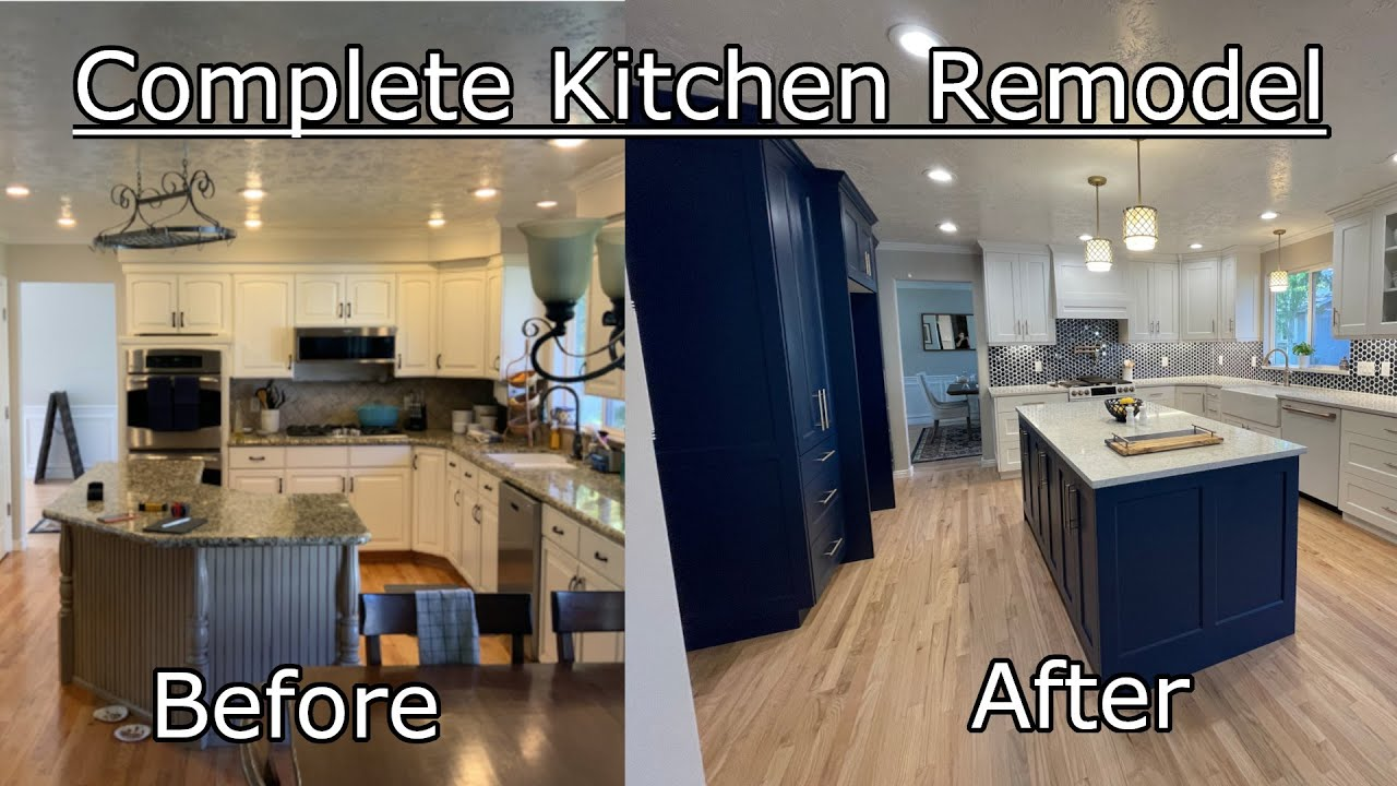 Total Kitchen Remodel Golf House Youtube