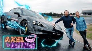 Porsche Taycan Turbo S on track |Was 1.050 NM & 761 PS mit uns machen |Axel & Matthias