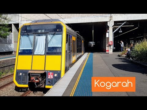 Sydney Trains Vlog 1464: Kogarah Trainspotting