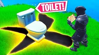 *RARE* TOILET TREASURE!! - Fortnite Funny WTF Fails and Daily Best Moments Ep.1008