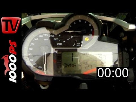 BMW R 1200 GS Adventure 0-100 Beschleunigung | Acceleration 2014 Foto